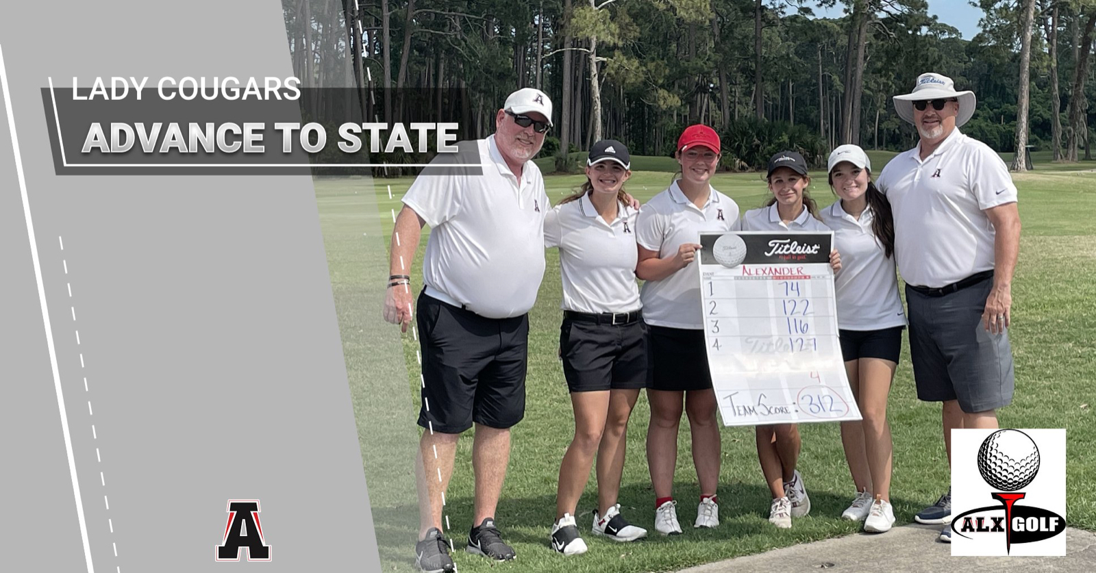 Lady Cougars Qualify for STATE!!!!