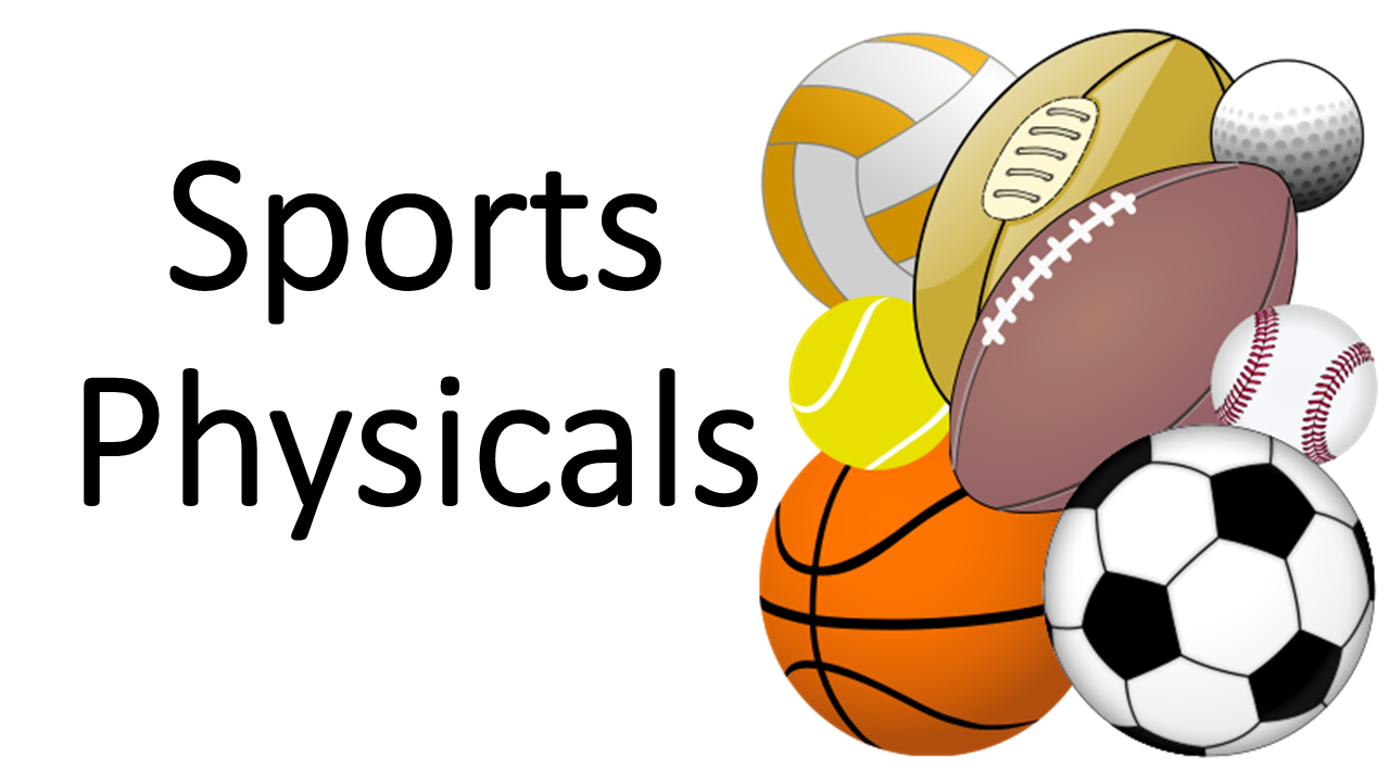 Last Chance for Fall Sports Physicals!