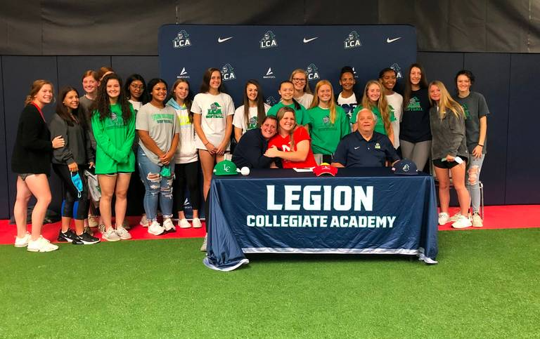 Legion Softball gets it done in the classroom!