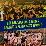 Boy's and Girl's Soccer both advance!