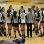 Zeeland East High School Girls Varsity Volleyball beat Muskegon High School 3-0
