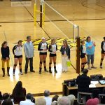 Zeeland East High School Girls Varsity Volleyball beat Kenowa Hills High School 3-0