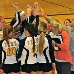 Zeeland East High School Girls Varsity Volleyball falls to West Ottawa High School 2-3