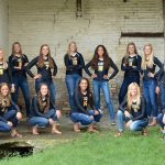 Zeeland East High School Girls Varsity Volleyball beat Lowell and Montague 6-0
