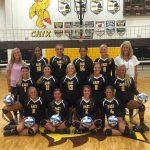 Zeeland East High School Girls Varsity Volleyball ties Multiple Opponents 1-1