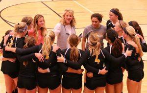 ZE Varsity Volleyball Vs Hudsonville District Semi-Final