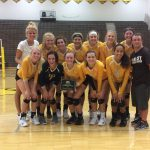Zeeland East High School Girls Varsity Volleyball beat Multiple Opponents 7-0