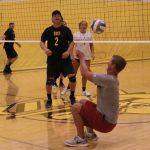 Zeeland East Varsity Volleyball vs Dads of ZEVB