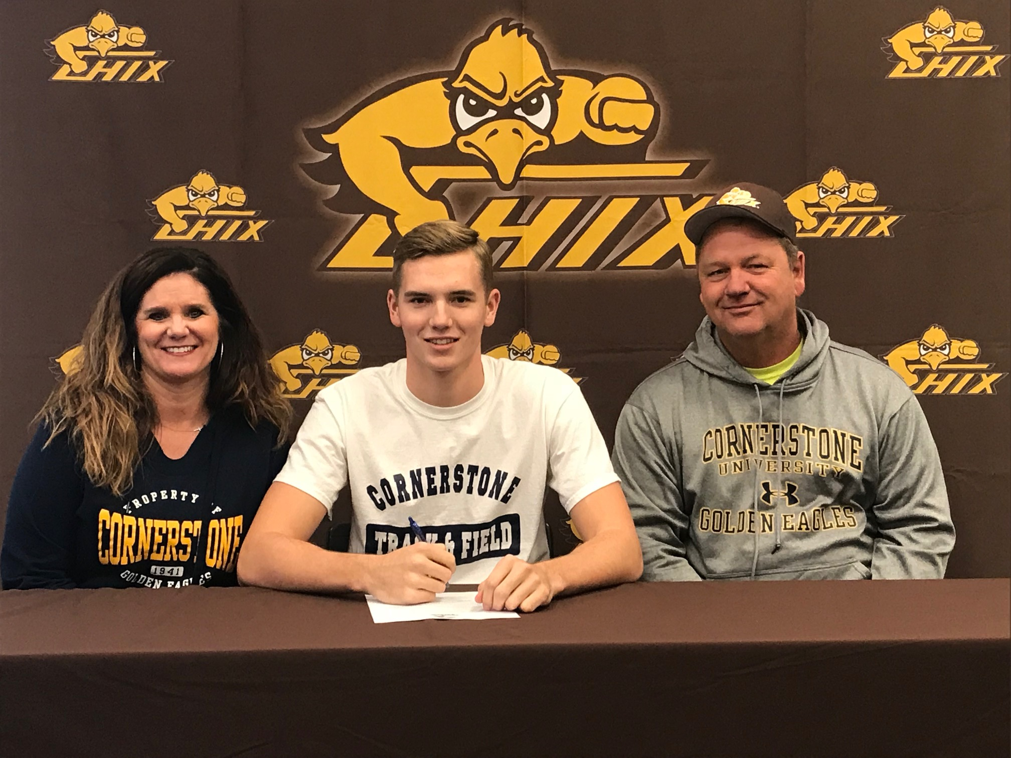 Colton Compagner Signs with Cornerstone University!