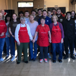 Boys Tennis Team Helps Out With Local Church