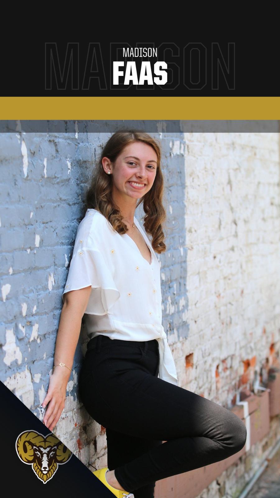 Student-Athlete Spotlight: Madison Faas