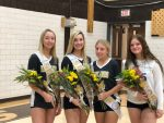 Volleyball Enjoys Senior Night And First Season