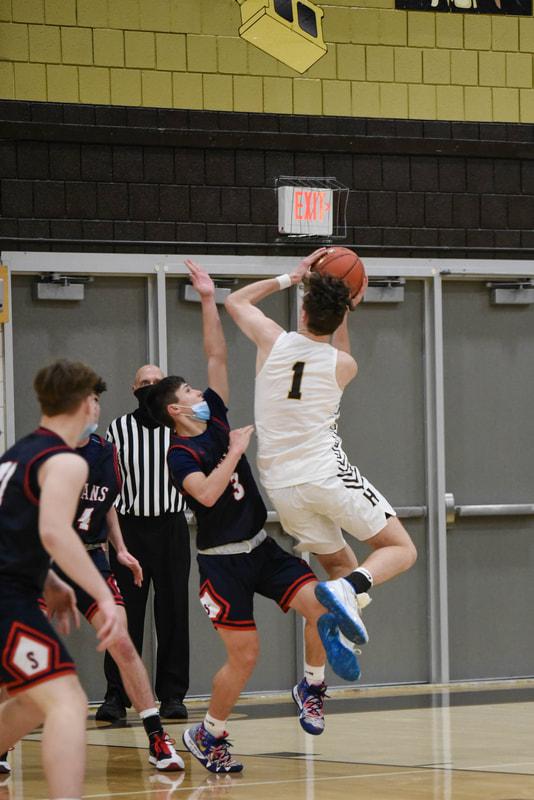 Boys Varsity Basketball vs. Shaler (Photo Courtesy of Kathy Kemp)