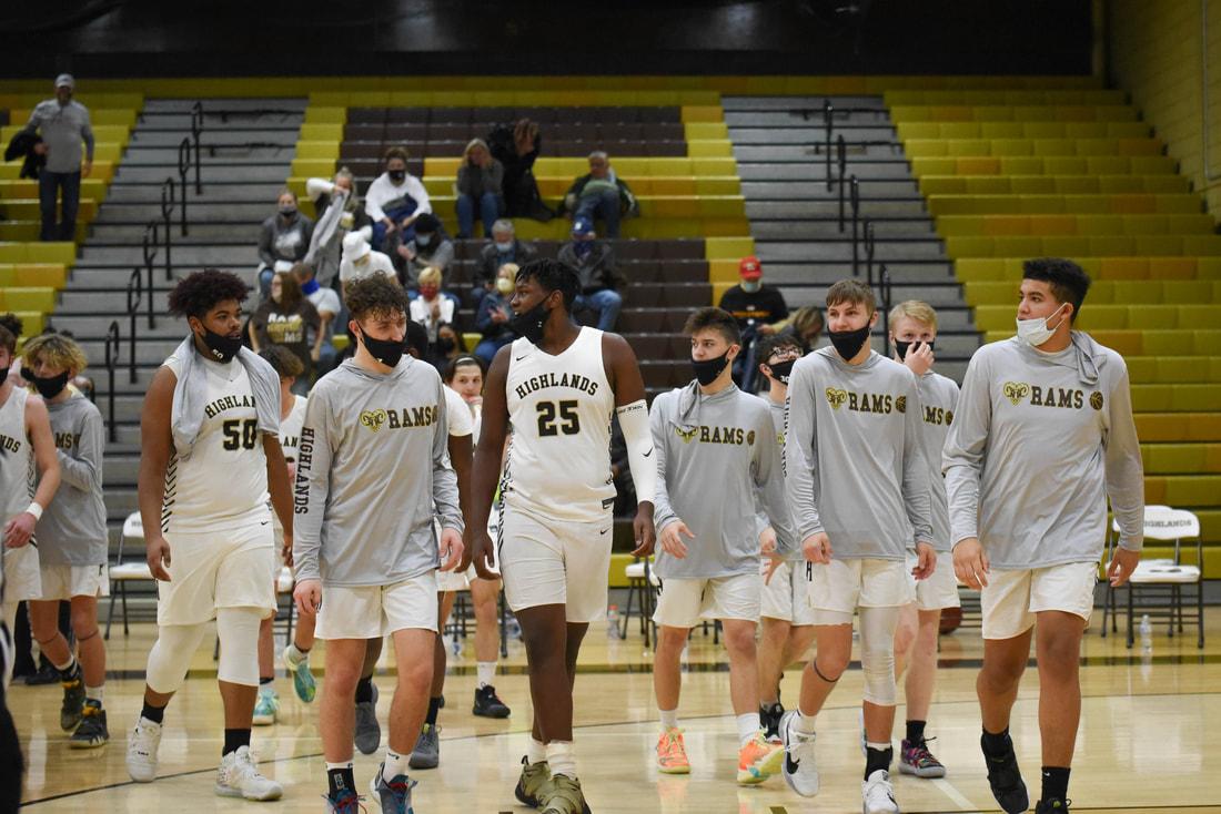 Boys Varsity Basketball vs. Knoch (Photo courtesy of Kathy Kemp)