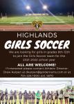 Varsity Girls Soccer Sign-Ups