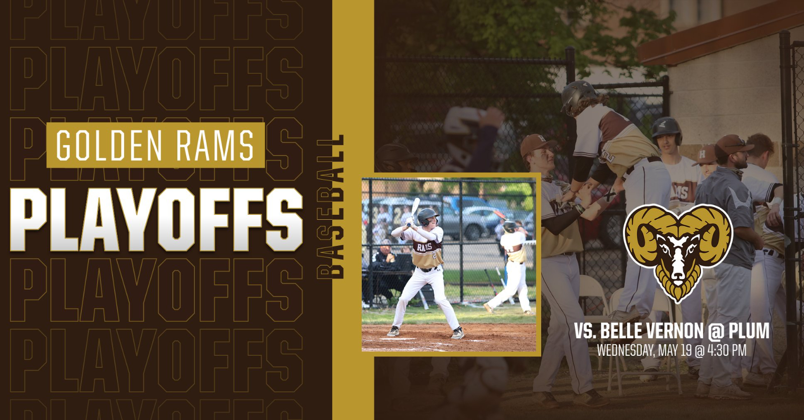 Varsity Baseball Earns No. 6 Seed In Class 4A Playoffs