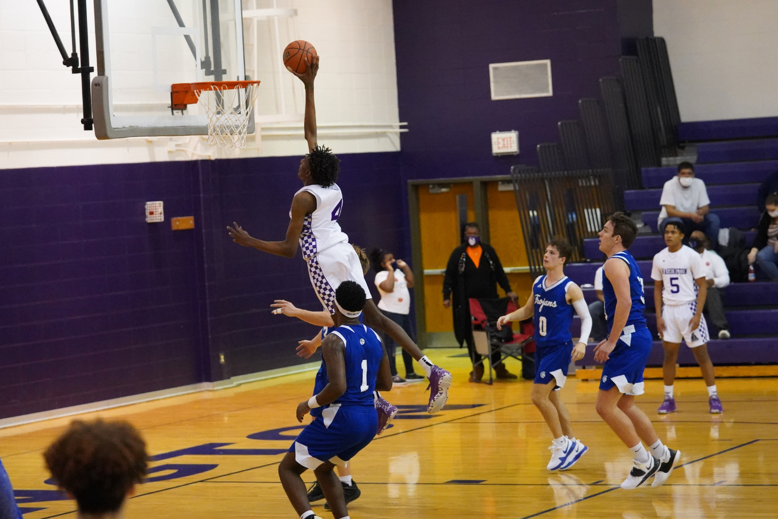 Boys basketball beats Bishop Chatard in season home opener