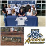 Adams Signs With Andrew College