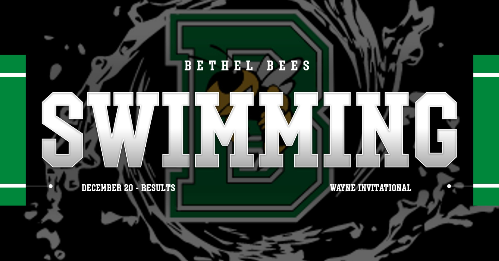 Bees Swimming – Wayne Invitational