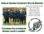 Blue Valley Southwest Congratulates Girls XC State Qualifiers