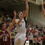 Boys Varsity Basketball suffers first loss of the season