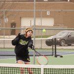 Lady Tiger Tennis defeats University