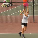Lady Tiger Tennis Team wins decisively over Western Boone – Smash Cancer