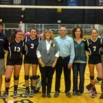 Lady Tigers Volleyball Celebrate Senior Night with a Victory!