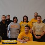 Congratulations Cody Bauer: Signs to play football next year at Marian University