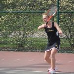 Lady Tigers Tennis Cruises past Southmont 4-1.