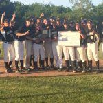 Tigers Baseball Sectional Champions; Defeat Frankfort 12-4