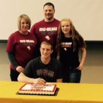 Congrats Senior Griffin Steffy: Signed to play Football at Rose-Hulman