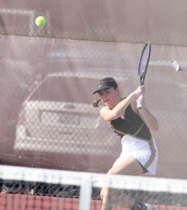 Lady Tiger Tennis vs Brebeuf