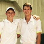 Great Results from Regional Golfers Zach Schroeder & Lucas Beck; Schroeder Moving on to State!