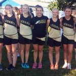 Lebanon High School Girls Varsity Cross Country finishes 3rd place