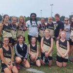 Lebanon High School Girls Varsity Cross Country finishes 4th place