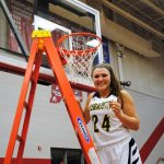 SENIOR KRISTEN SPOLYAR FINISHES HER BASKETBALL CAREER A TOP THE IHSAA LEADER BOARD