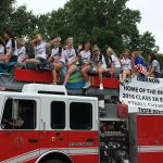 Lady Tigers Softball Celebrate State Championship in 4th of July Parade!