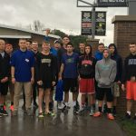Rain Can't Stop the Boys Basketball Team from Participating in Lebanon Cleanest City Project!