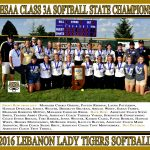 Softball State Championship Team to be Honored Nov. 23rd