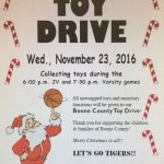 LHS Boys Basketball To host Toy Drive Nov. 23rd.