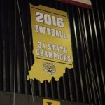 LHS 2016 Softball Team Celebrates State Championship with Permanent Banner in GYM