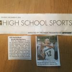 Congratulations Basketball Player Brooke Montgomery: INDY STAR ATHLETE OF THE WEEK