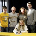 Congratulations Kassidi Cadle Signs to play Softball at Marian University