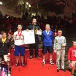 Congratulations Evan Stambaugh 182 lb.  Spartan Classic Wrestling Champion