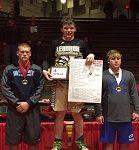 Congratulations Jacob McClaine 220 lb. Spartan Classic Wrestling Champion