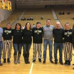 Lady TIgers Honor Senior Basketball Players: Brooke Montgomery, Erin Huse, & Kassidi Cadle