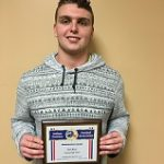 Congratulations Football Player Zach Huse:  IFCA Salutatorian Award Winner