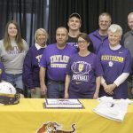Congratulations LHS Senior Football Player Zach Huse: Signs with Taylor University