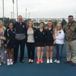 LHS Girls Tennis Team Celebrates Senior NIght